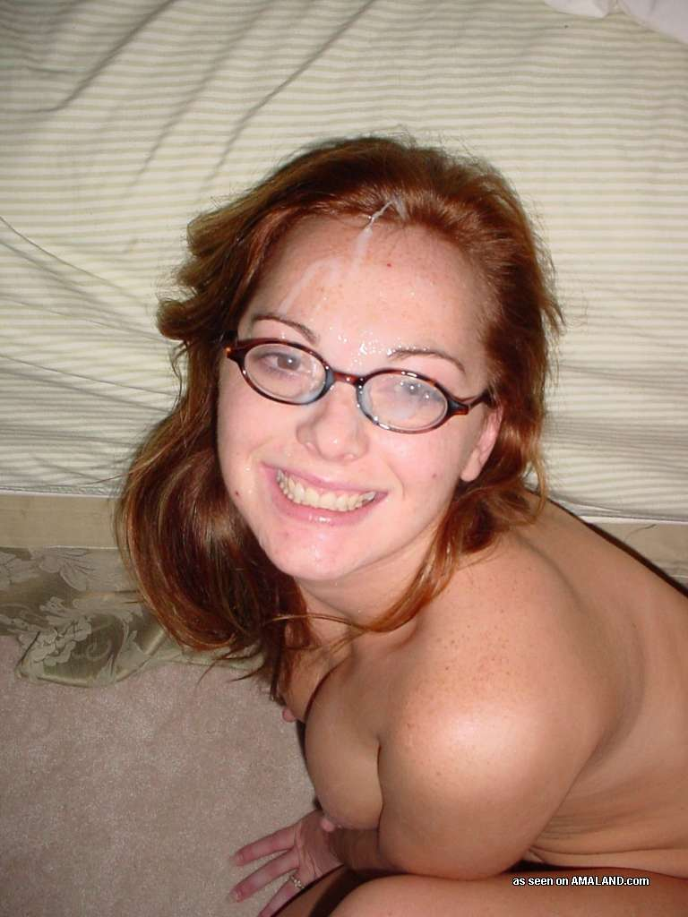Nude redhead girls with glasses