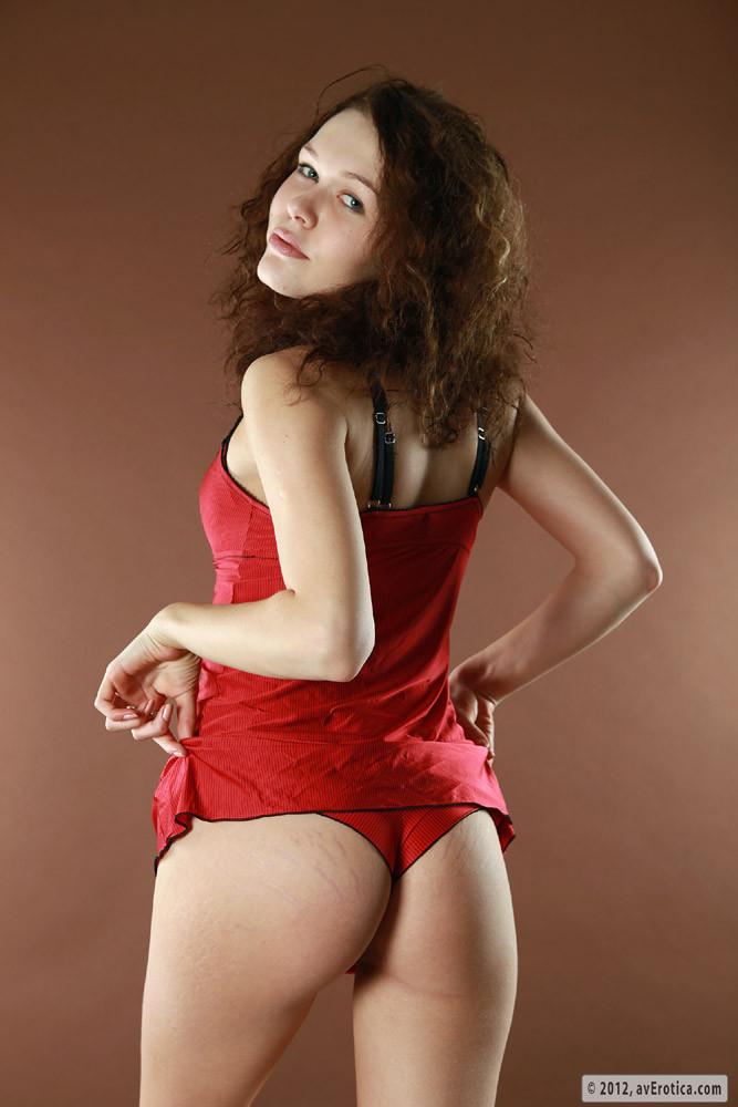 Cute nude girl spread legs