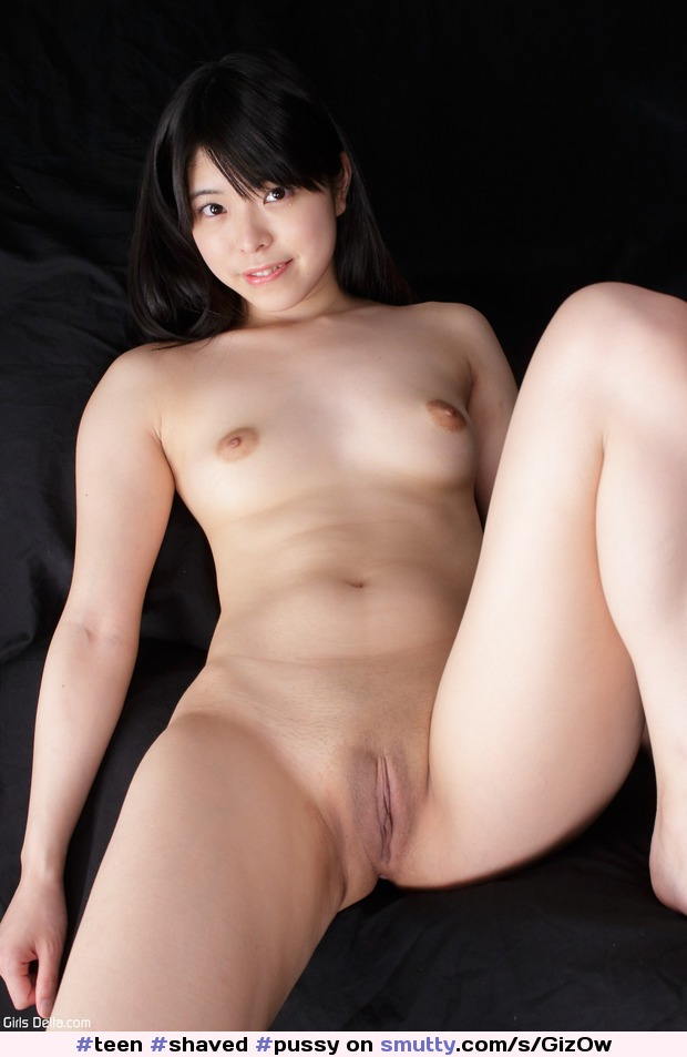 Japanese shaved pussy spread