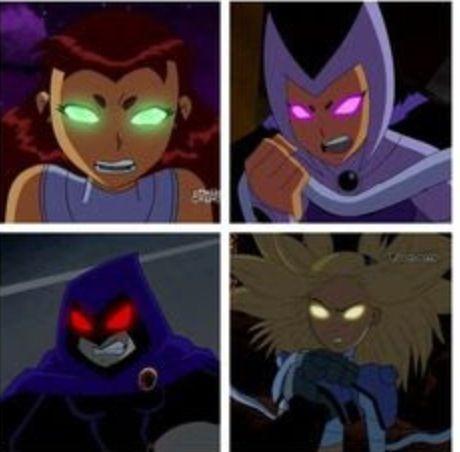 Pic raven starfire tara teen titans