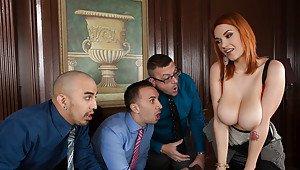 Big tits big cock porn