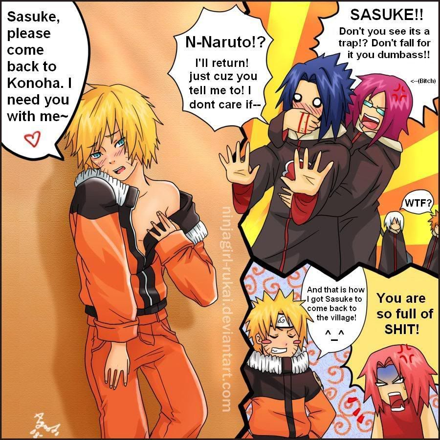 Naruto x sasuke xxx comic