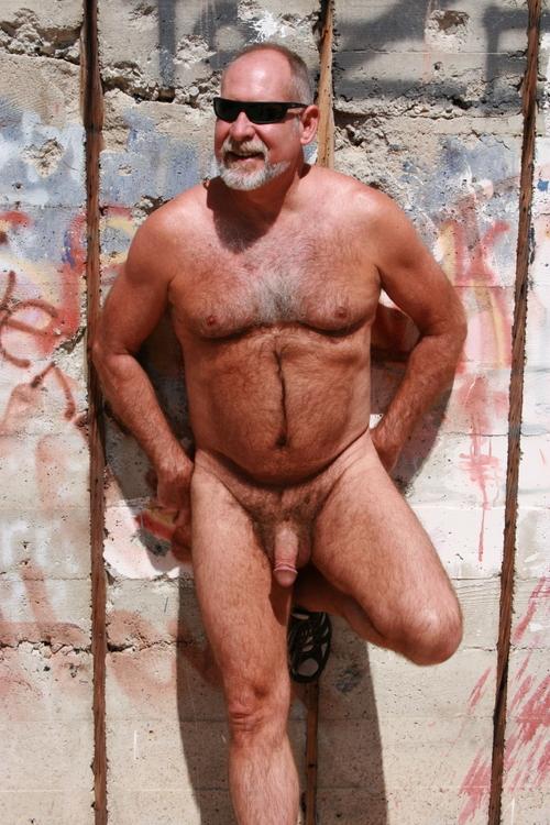 Mature older men grandpa naked