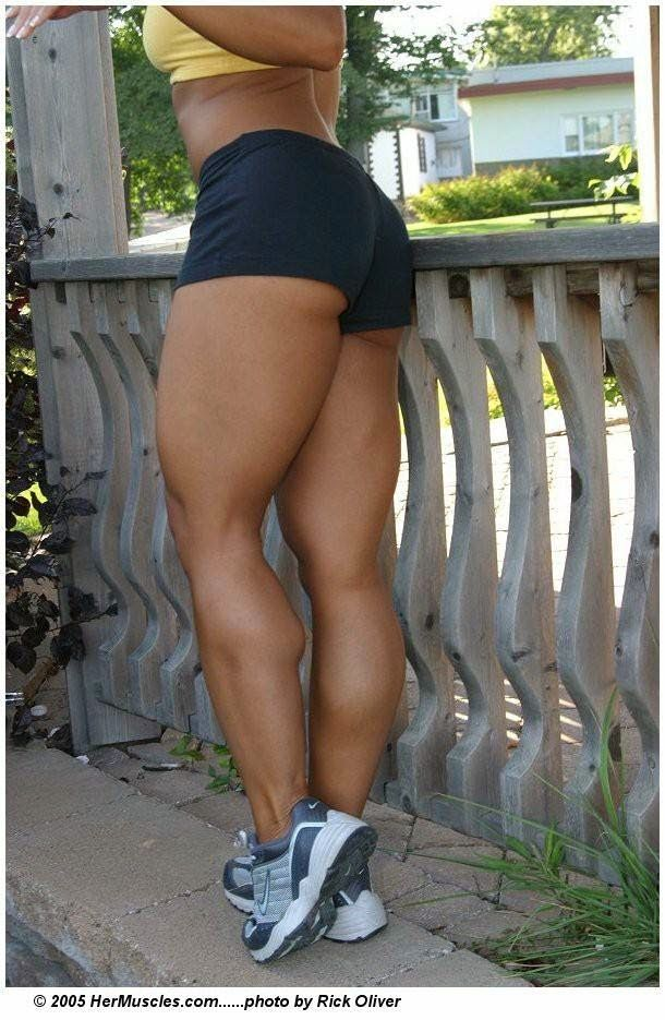 Athletic legs for women
