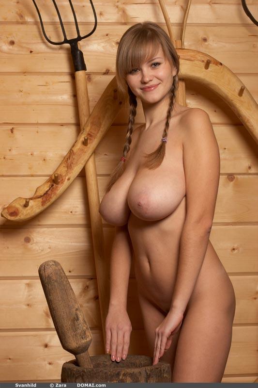 Svanhild domai nude model