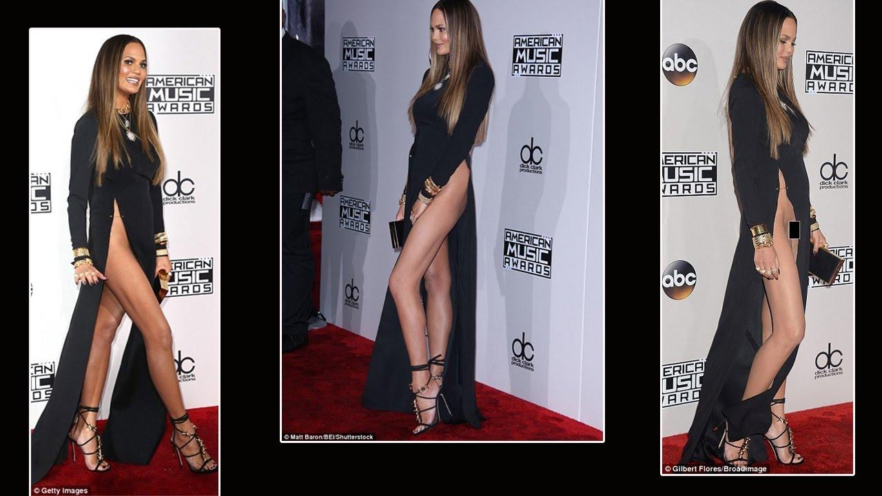 Chrissy teigen no underwear
