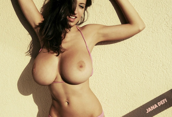 Babe with perfect boobs