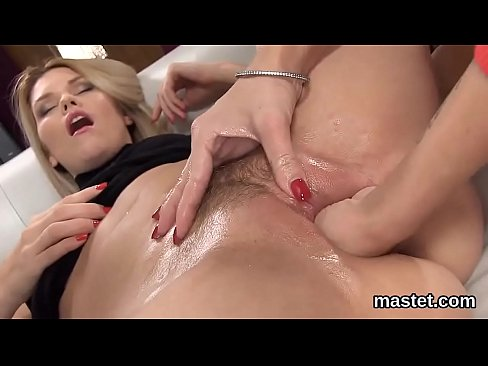 Greek woman spreads to show her vagina
