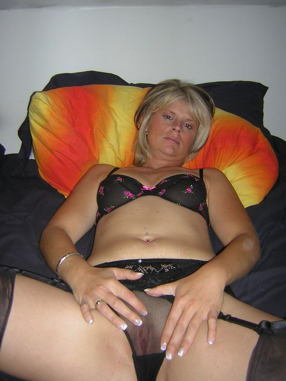 Homemade mature big tits hairy pussy