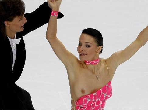 Nude figure skater pussy