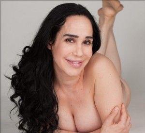 Big hair stocking pussy