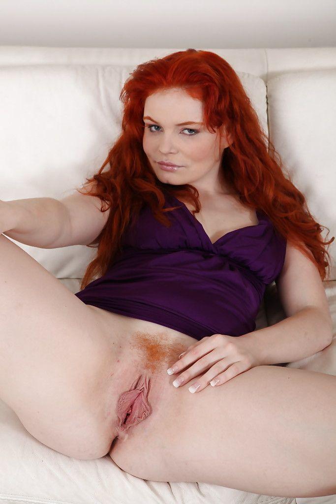 Big pussy lips redhead