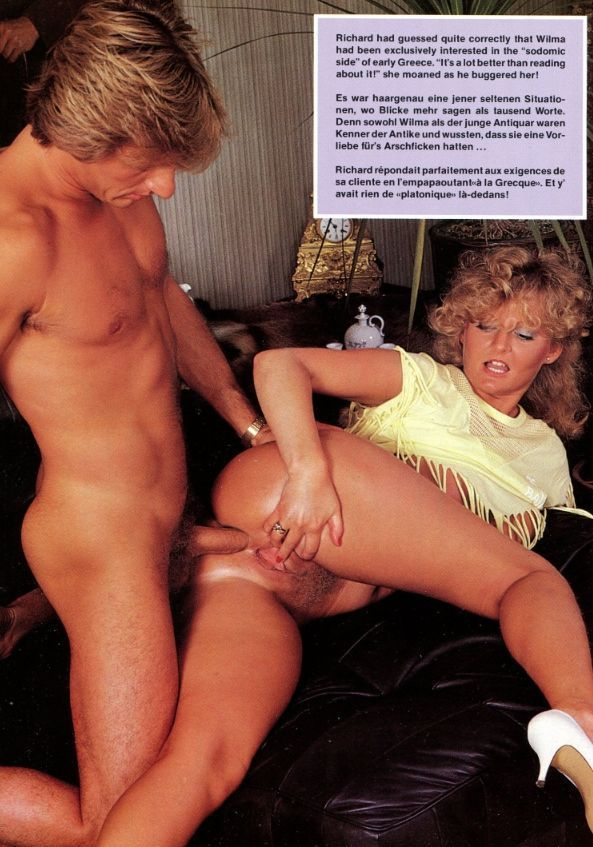 Vintage porn anal sex