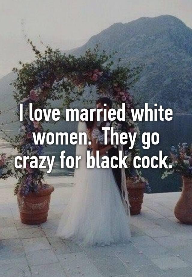 Black cock white bride wedding dress