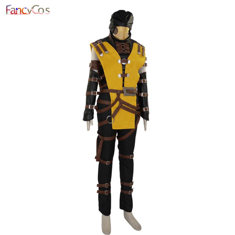 Adult costume kombat mortal