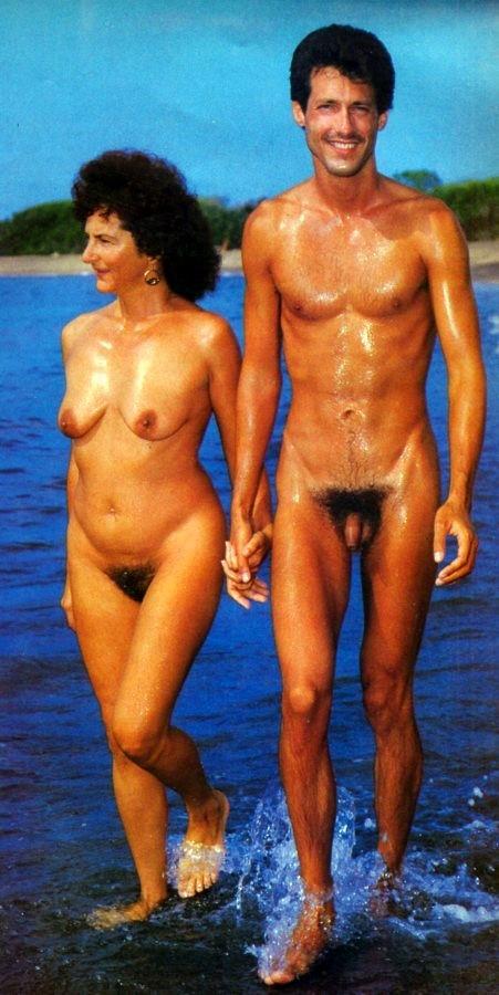 Vintage mom son nude