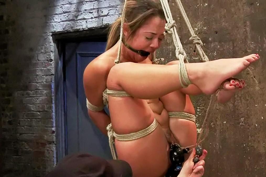 Naked girls in bondage
