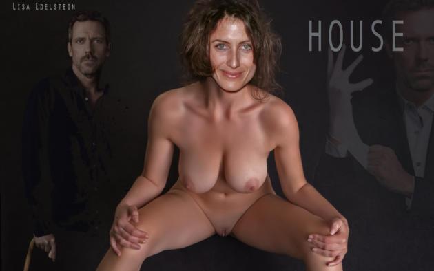 Lisa edelstein fake porn