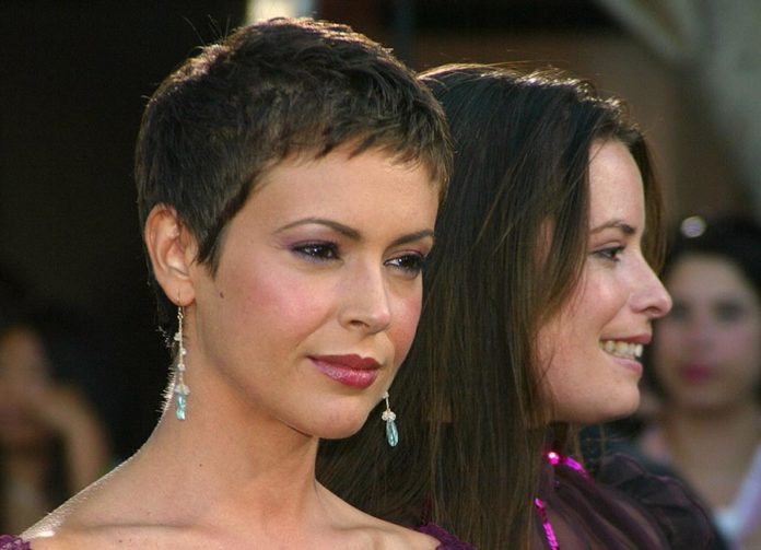 Holly marie combs and alyssa milano