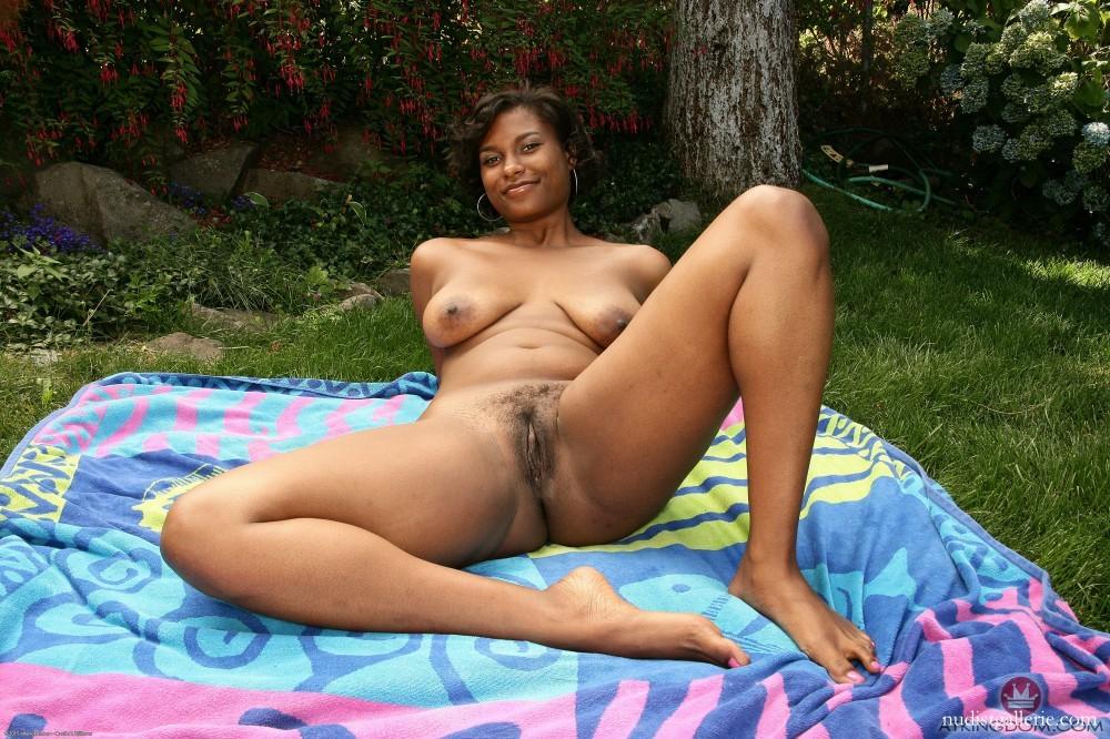 Nudist hairy ebony