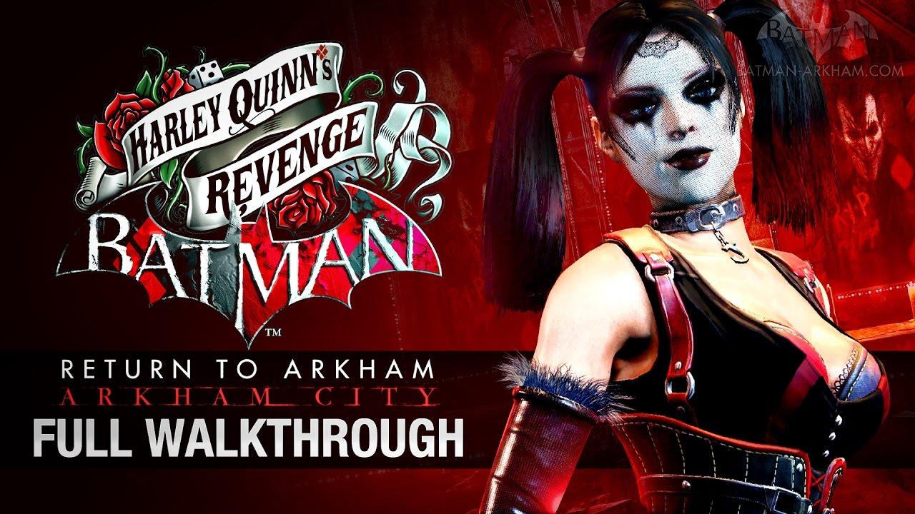 Batman arkham city harley quinn revenge