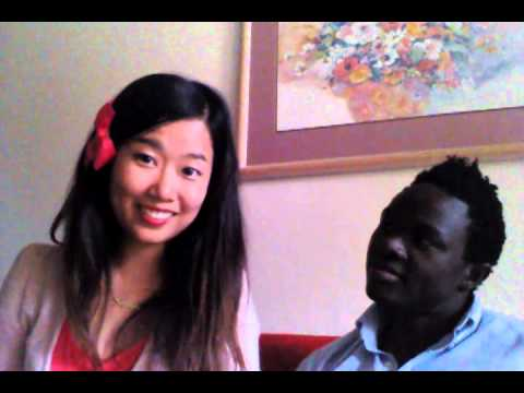 Black white asian interracial
