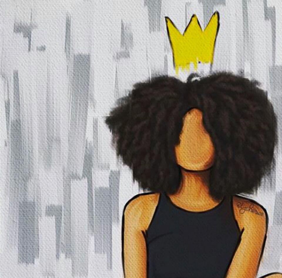 White girls black queens