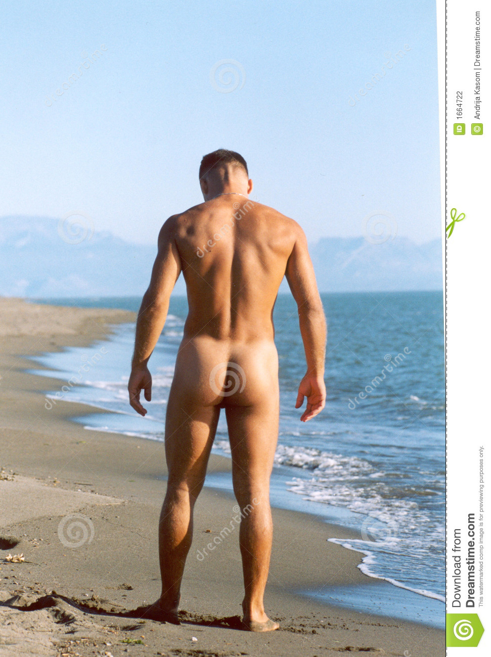 Nude men in nude beaches