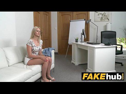 Fake casting call anal