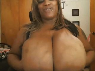 Ride big black tits
