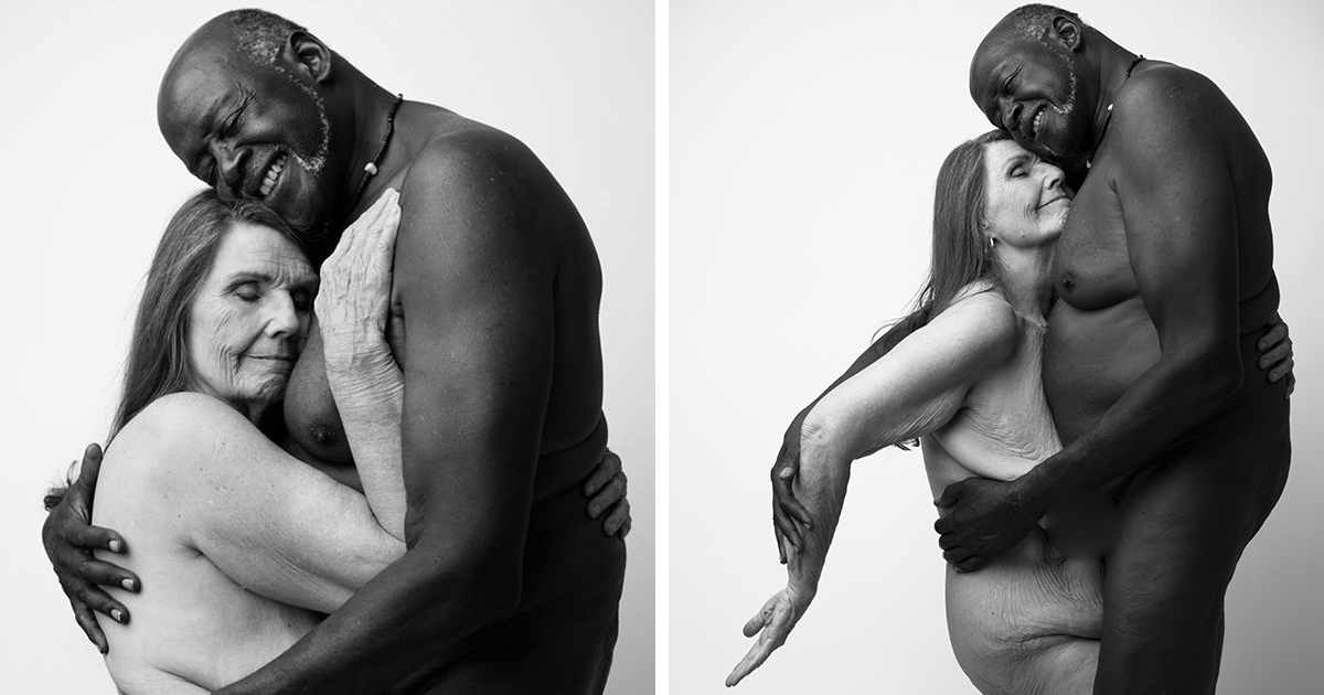 Famous nude couples photographed