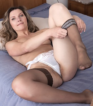 Moms nude in stockings
