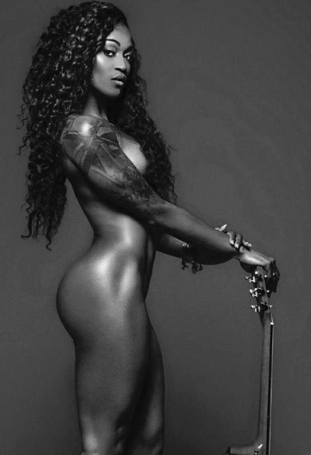 Ebony sexy african goddess