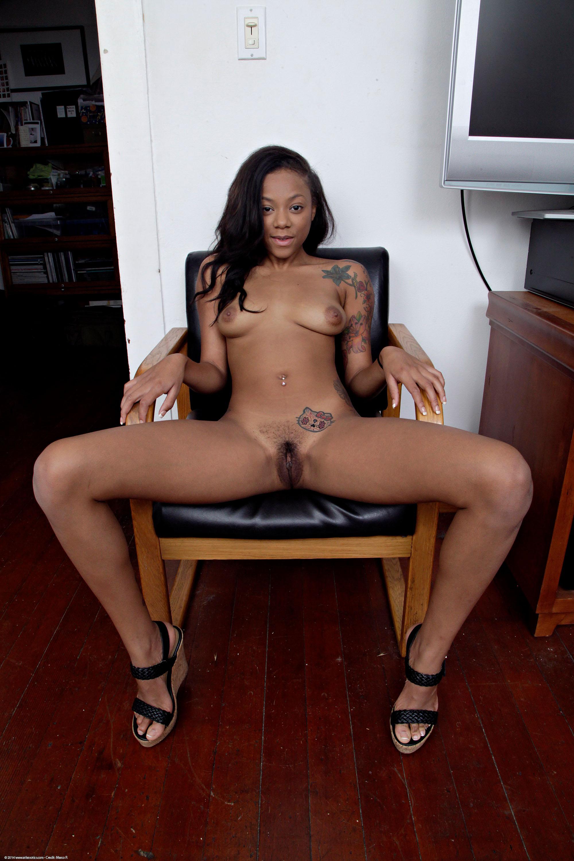 Ebony hairy atk exotique