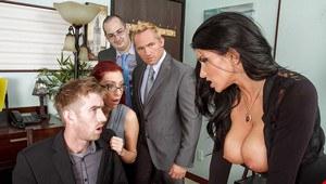 Niki blond porn star