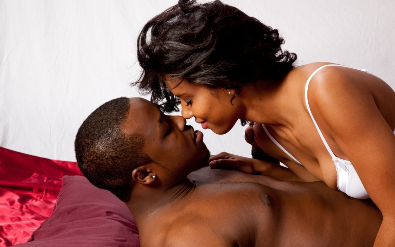 Sex black lady position for
