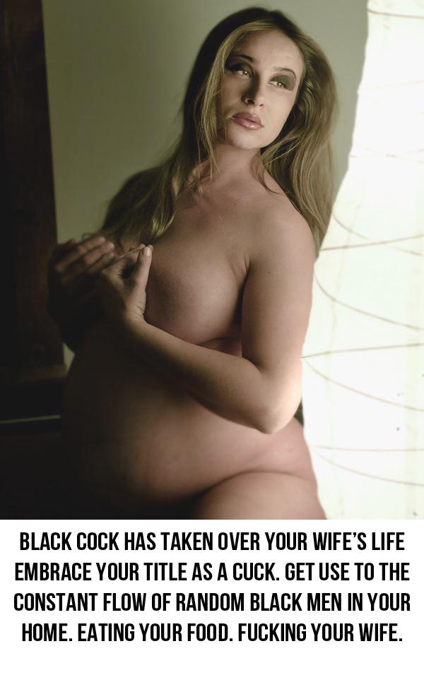 Black cuckold captions pregnant