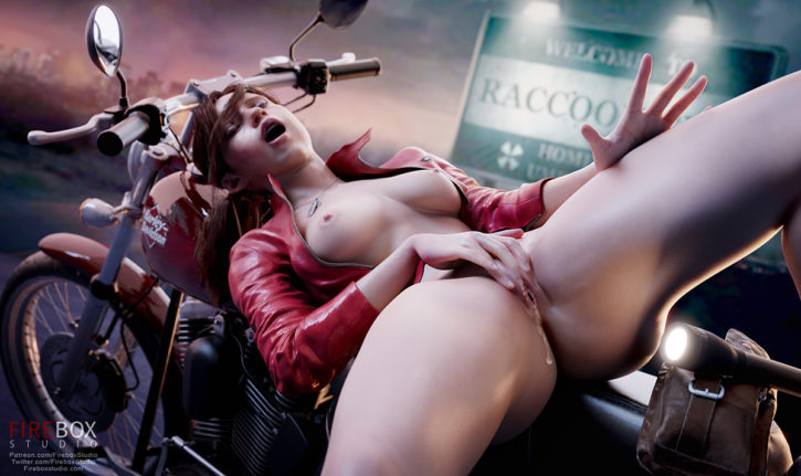 Resident evil claire redfield porn
