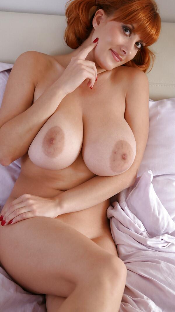 Busty redhead women nude