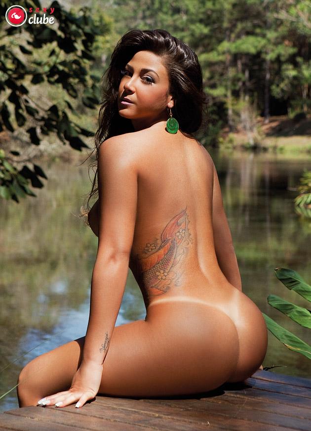 Totally naked brazilian women