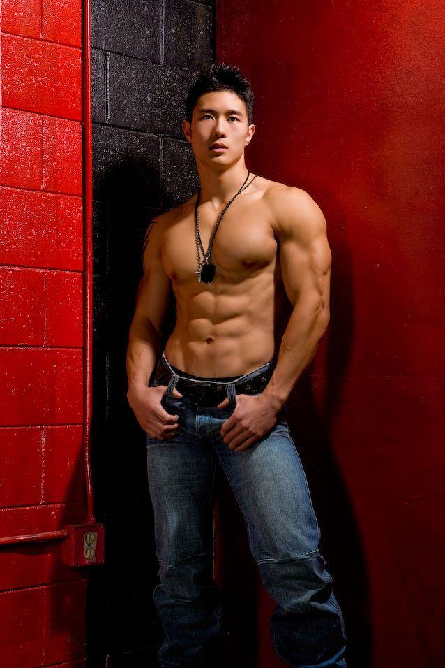 Man jean sex hot muscles