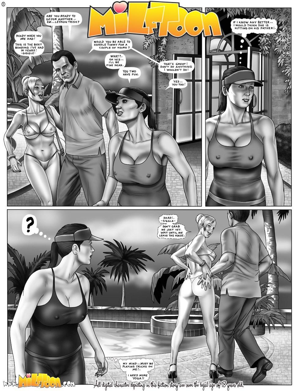 Cartoon mom son porn comic