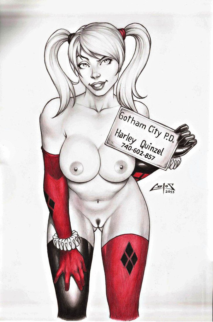 Harley quinn bikini hentai