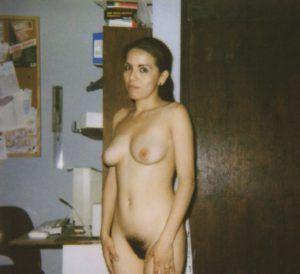 Hot women in white satin panties