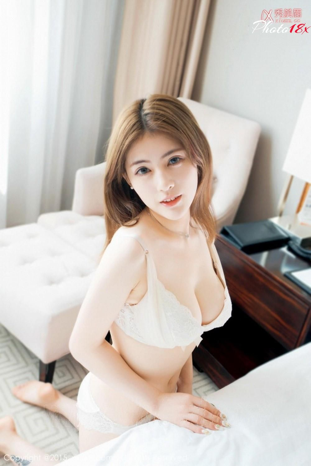 Sexy asian girl bra and panties