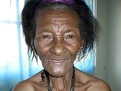 Very old black grannies pussy