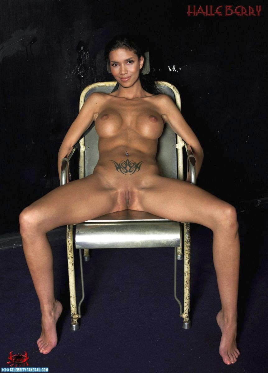 Celebrity halle berry nude
