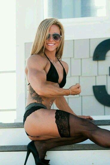 Muscle girls sexy women