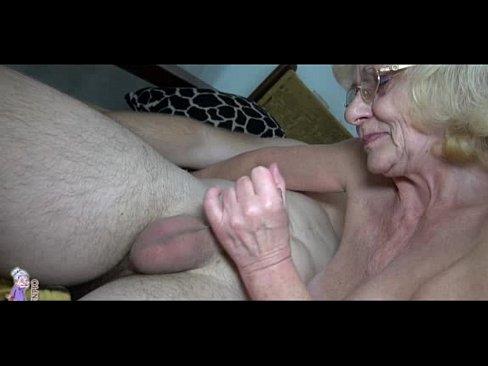 Old grannies young men