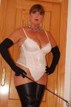 Mature dominant women in girdles